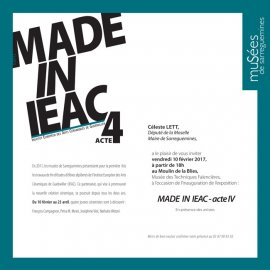 Made in IEAC Acte 4 - 2017